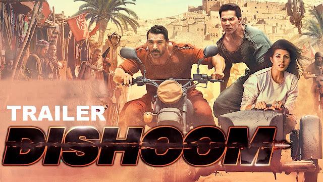 Dishoom Trailer: Watch John Abraham, Varun and Akshaye Fight It Out !