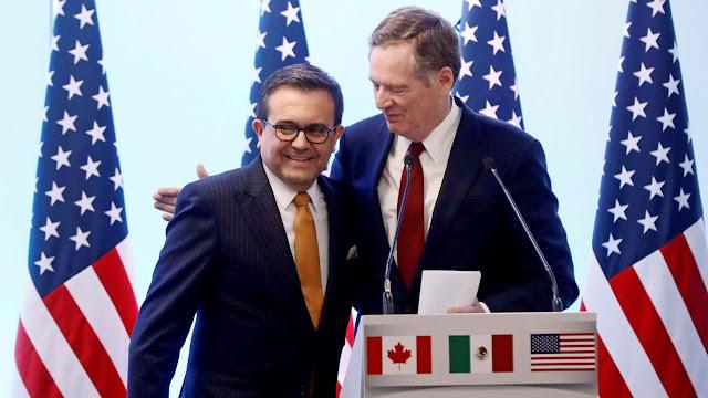 México y EU alcanzan acuerdo en el TLCAN: Bloomberg