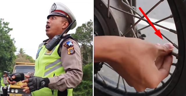 Parodi Operasi Zebra 2017 Di Aceh Besar Ini Bikin Ngakak, Netizen: Bisa Aja Polisi Zaman Now!
