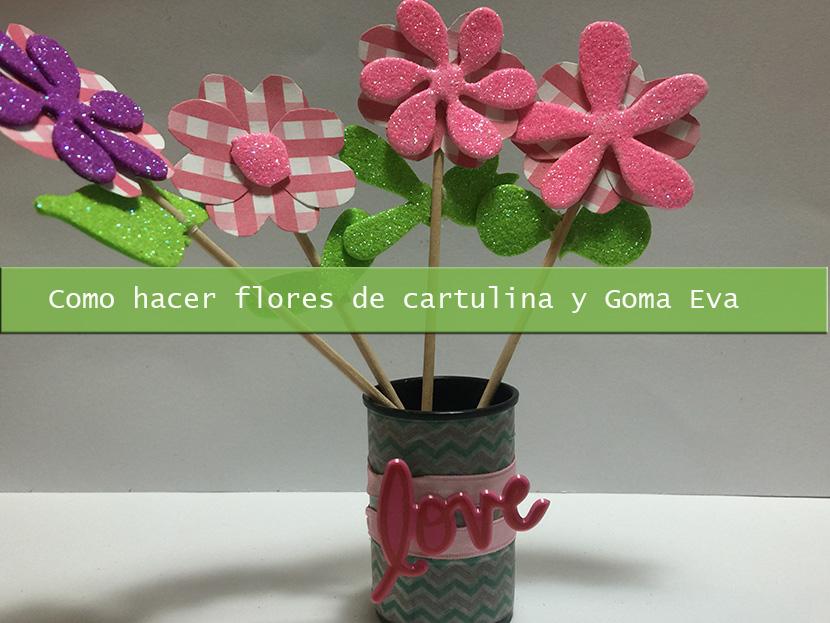 Flor De Goma Eva Paso A Paso Free Como Hacer Flores De Goma Eva