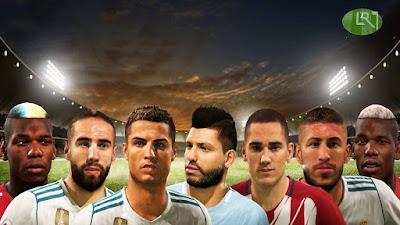 FIFA 18 Facepack ver2 by LR7_Face