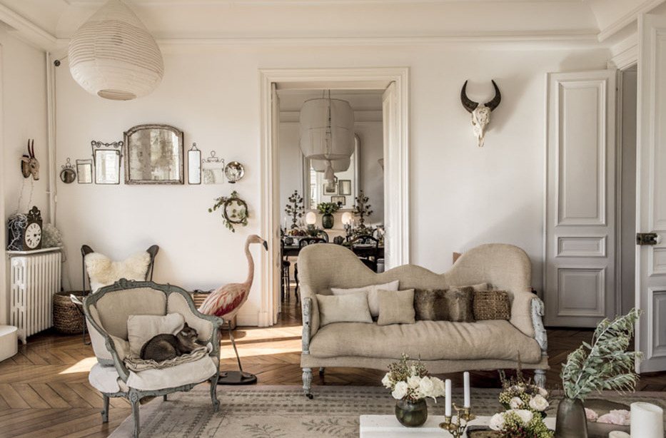 Vintage y shabby chic en paris ideas shopping - Decoracion shabby ...