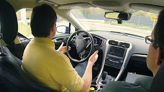In Race to Get Driverless Cars on the Road, Ford Speeds Ahead