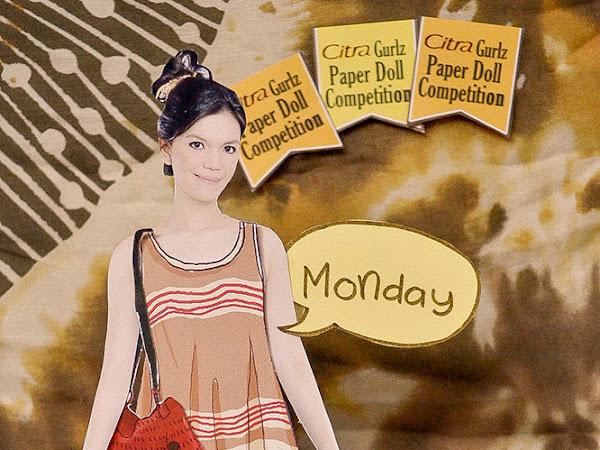 Styling Paper Doll Selama Seminggu