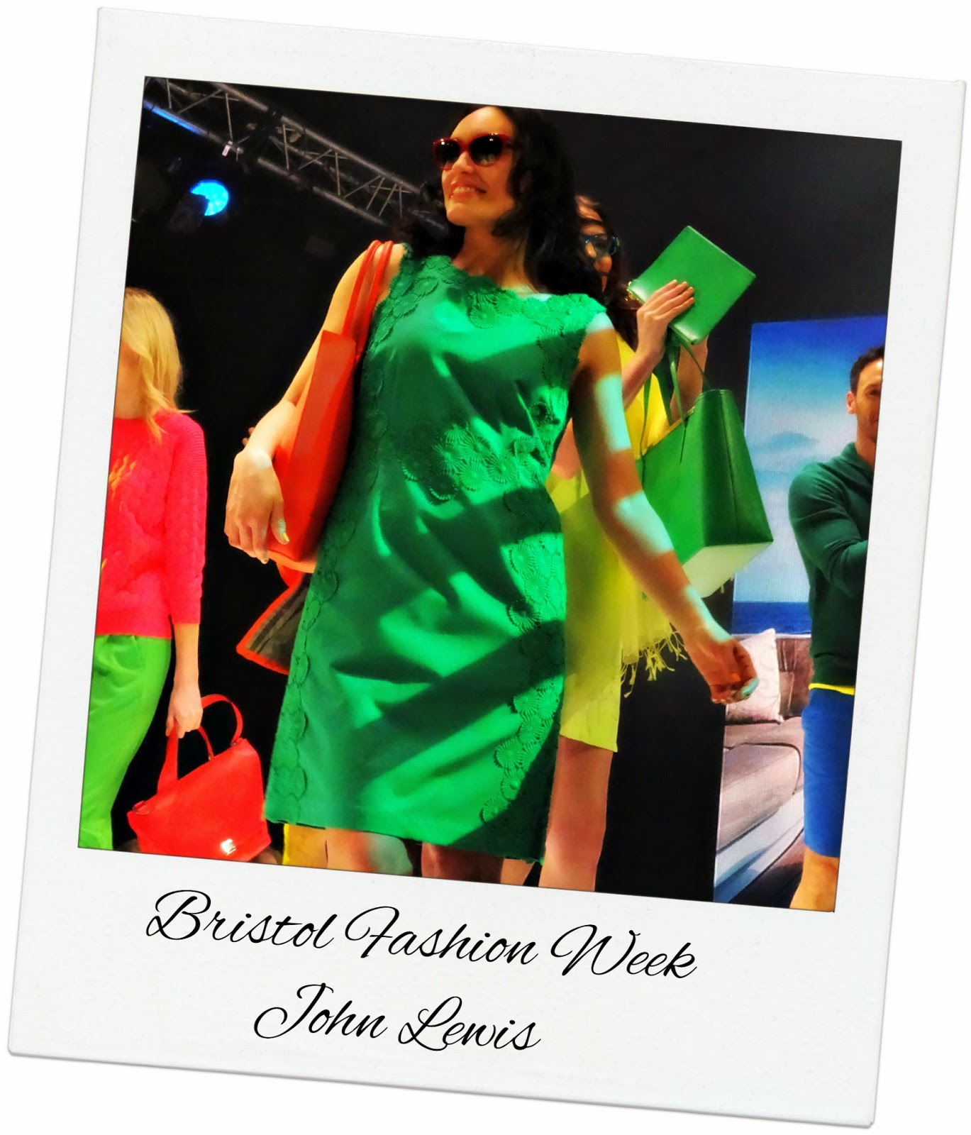 Bright colours at Bristol Fashion Week