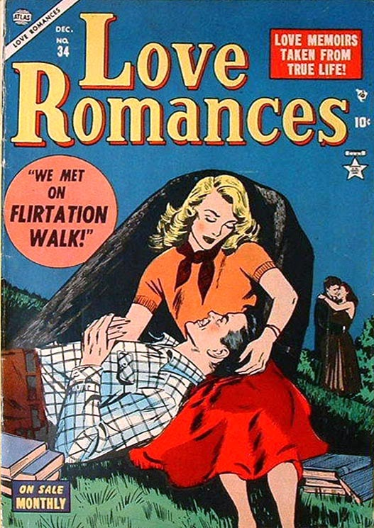 Love Romances (1949) issue 34 - Page 1