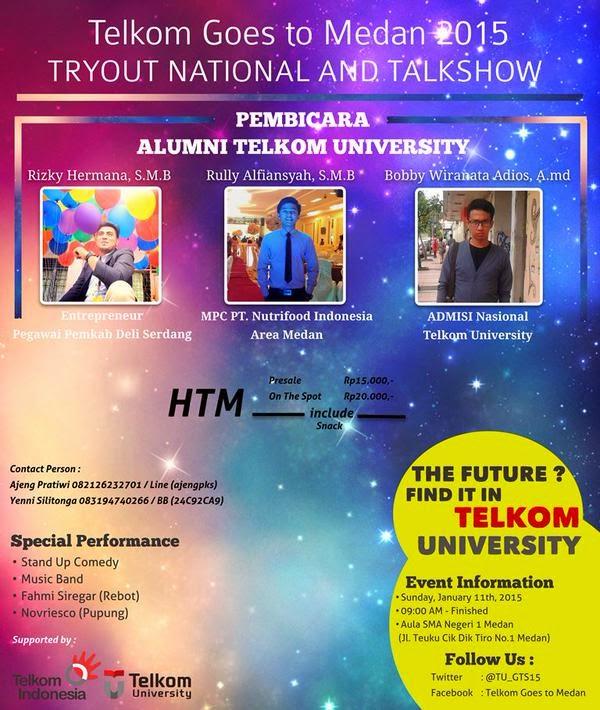 Telkom University Goes To Medan 2015