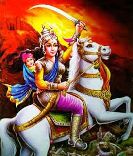 Jhansi ki Rani Laxmibai biography essay in hindi