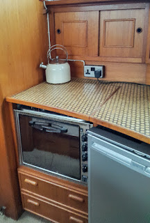 Photo of Ravensdale's gas stove and hob
