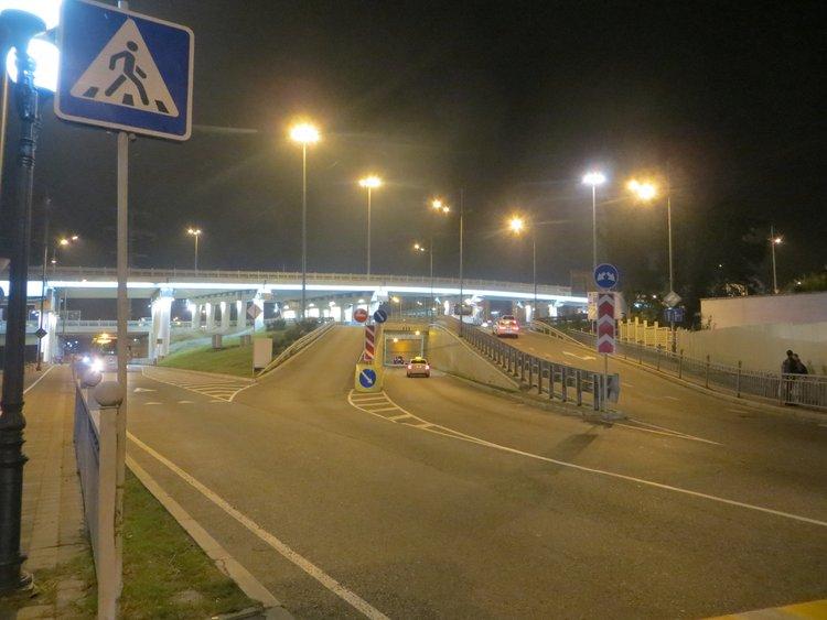 Развязка дорог в Сочи