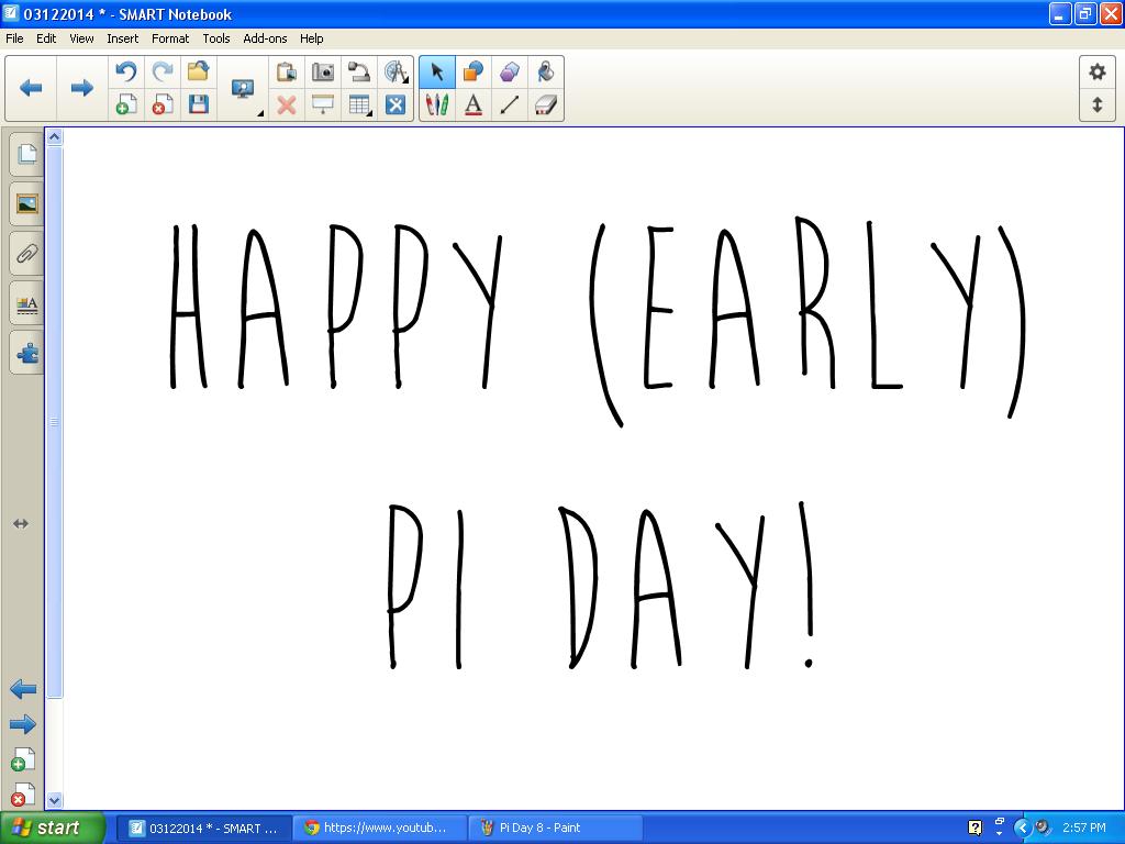 Math Love Pi Day Celebration