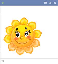 Sunflower Smiley