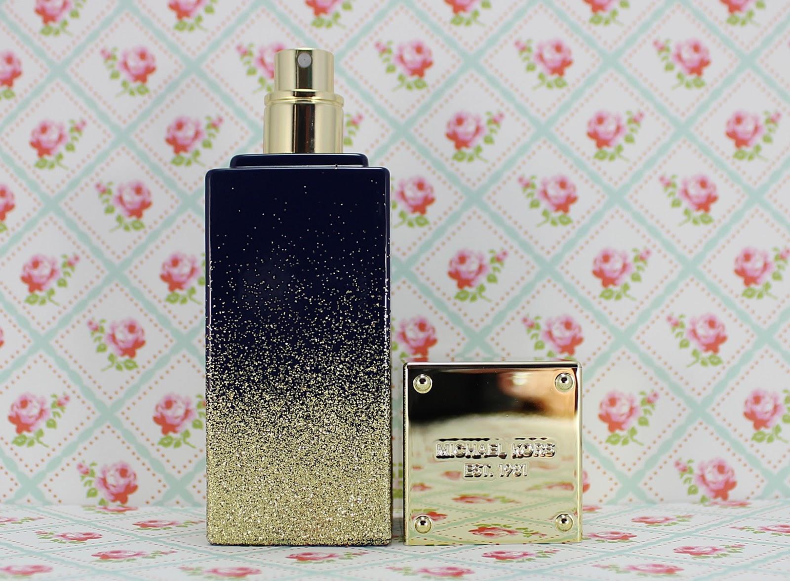 Michael Kors Midnight Shimmer Perfume beauty blog