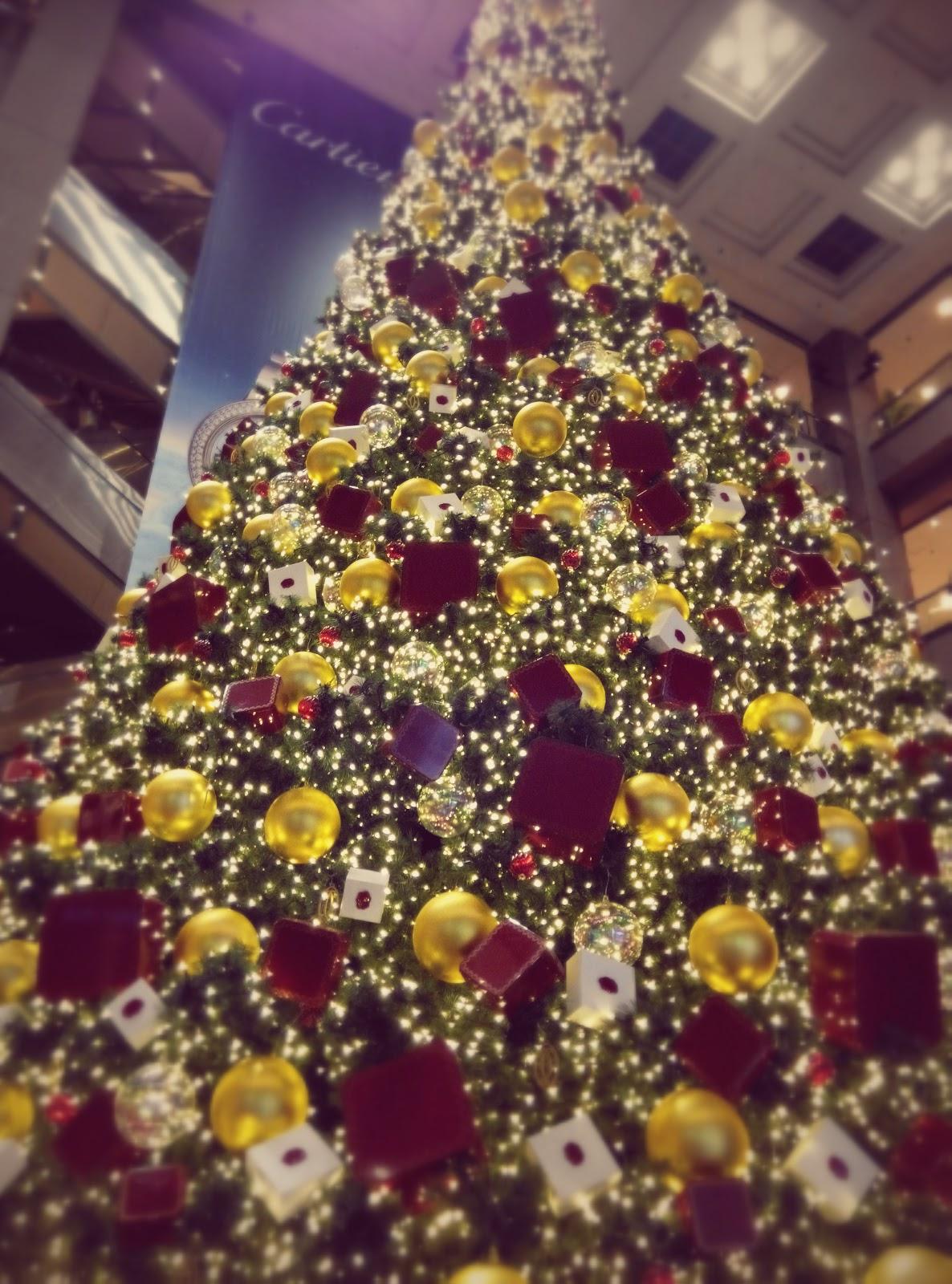 Christmas Tree, Takashimaya, Orchard Road, Singapore