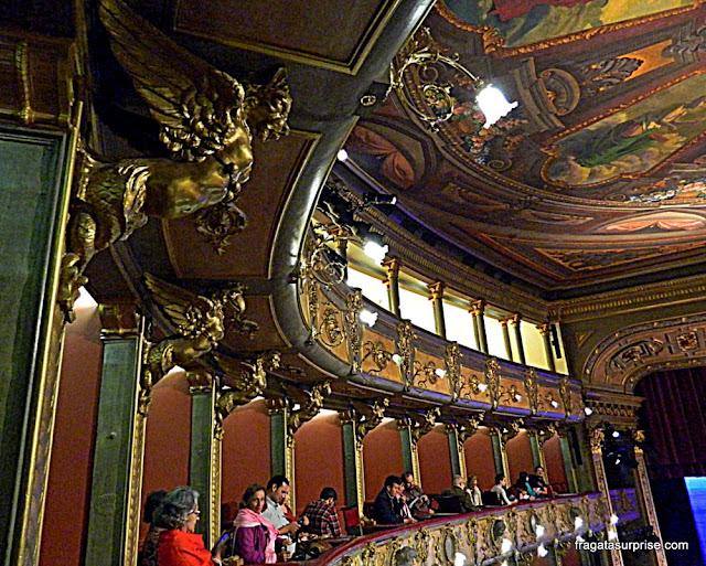 Camarotes do Teatro Colón de Bogotá