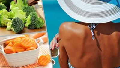 Les aliments pour accélérer le bronzage en 10 jours