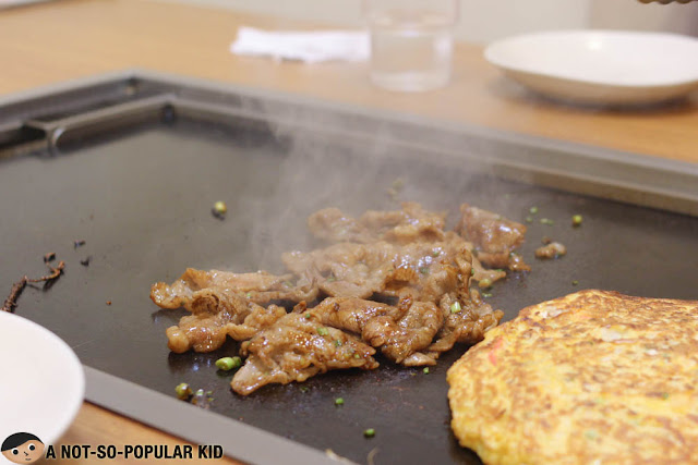 Grilled Kalbi Yakiniku of Dohtonbori