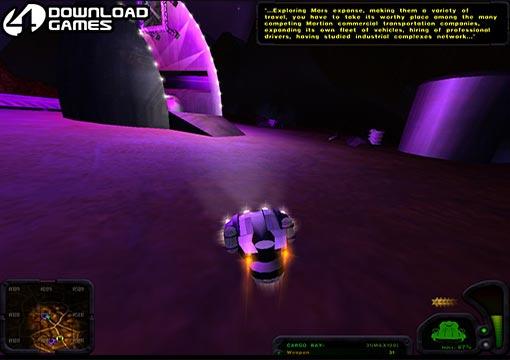 تحميل لعبة الاكشن سباق ناقل المريخ Martian Transporter برابط مباشر
