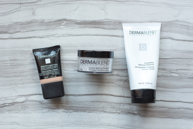 Dermablend Smooth Liquid Camo Foundation, Setting Powder & Makeup Remover review