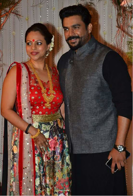r madhavan with wife