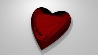 foto di cuore a forma di gioiello
