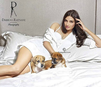 Athiya Shetty shoot for Dabboo Ratnani 2016 Calendar