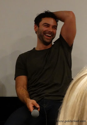 Poldark S3 screening,Aidan Turner