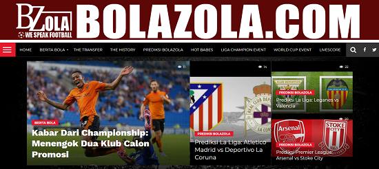 Bolazola.com Portal Berita Bola dan Prediksi Bola Terupdate