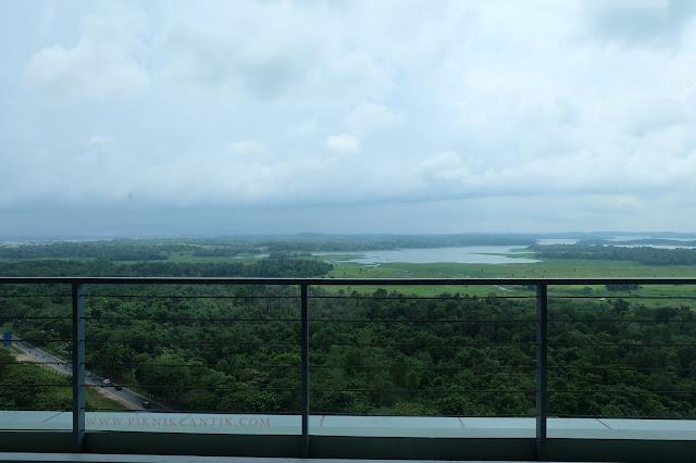 view pemandangan dari BWP Premier Panbil Hotel