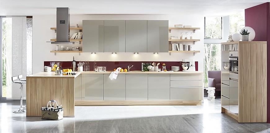 Cocinas modernas lineales colores en casa for Cocinas integrales lineales
