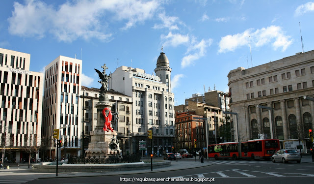 Viagem para Zaragoza, Barcelona