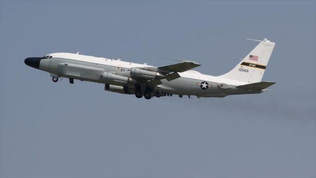 Aviones espía de EEUU y Suecia patrullan cerca de fronteras rusas