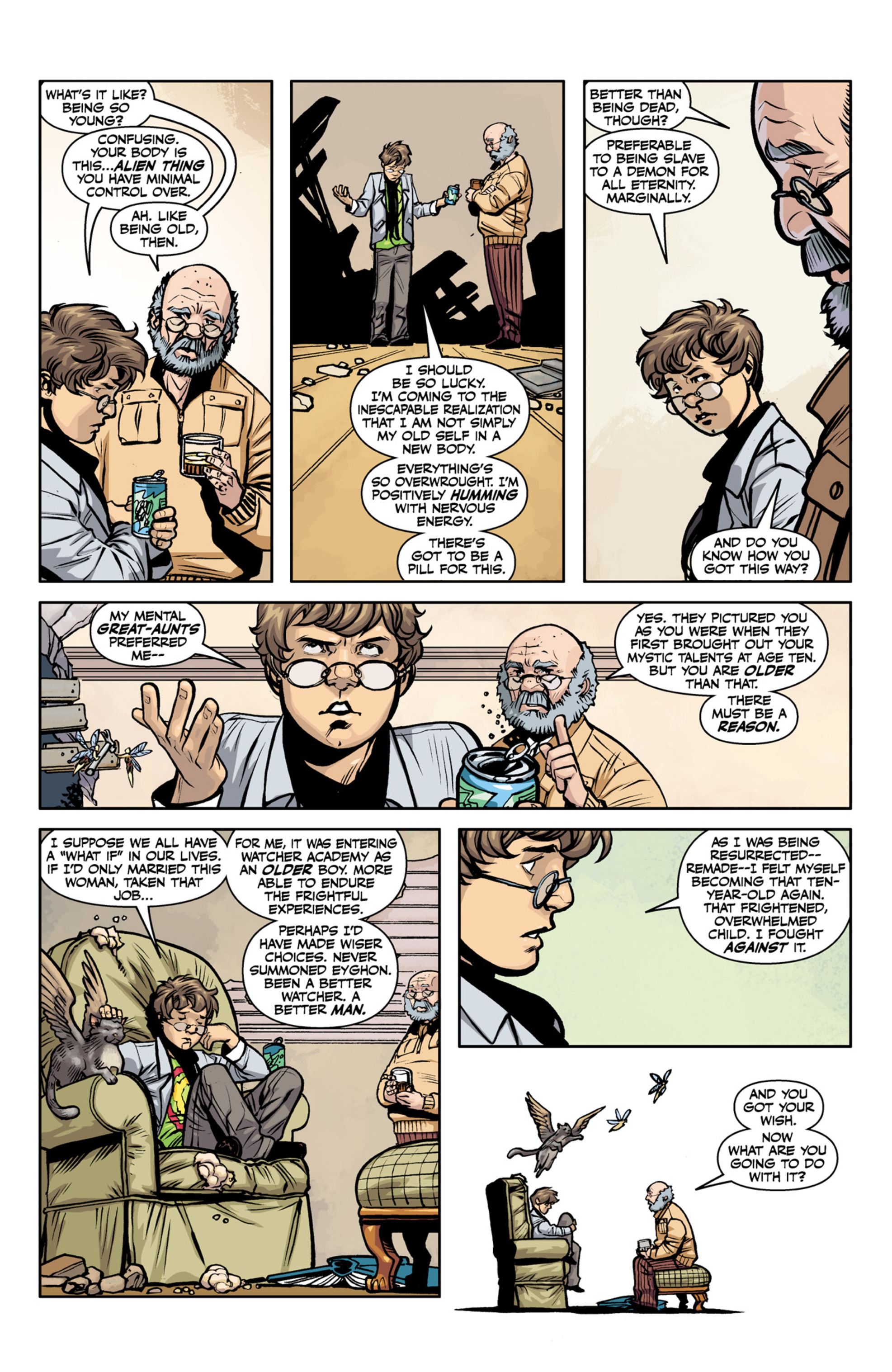 Read online Angel and Faith comic -  Issue #22 - 19