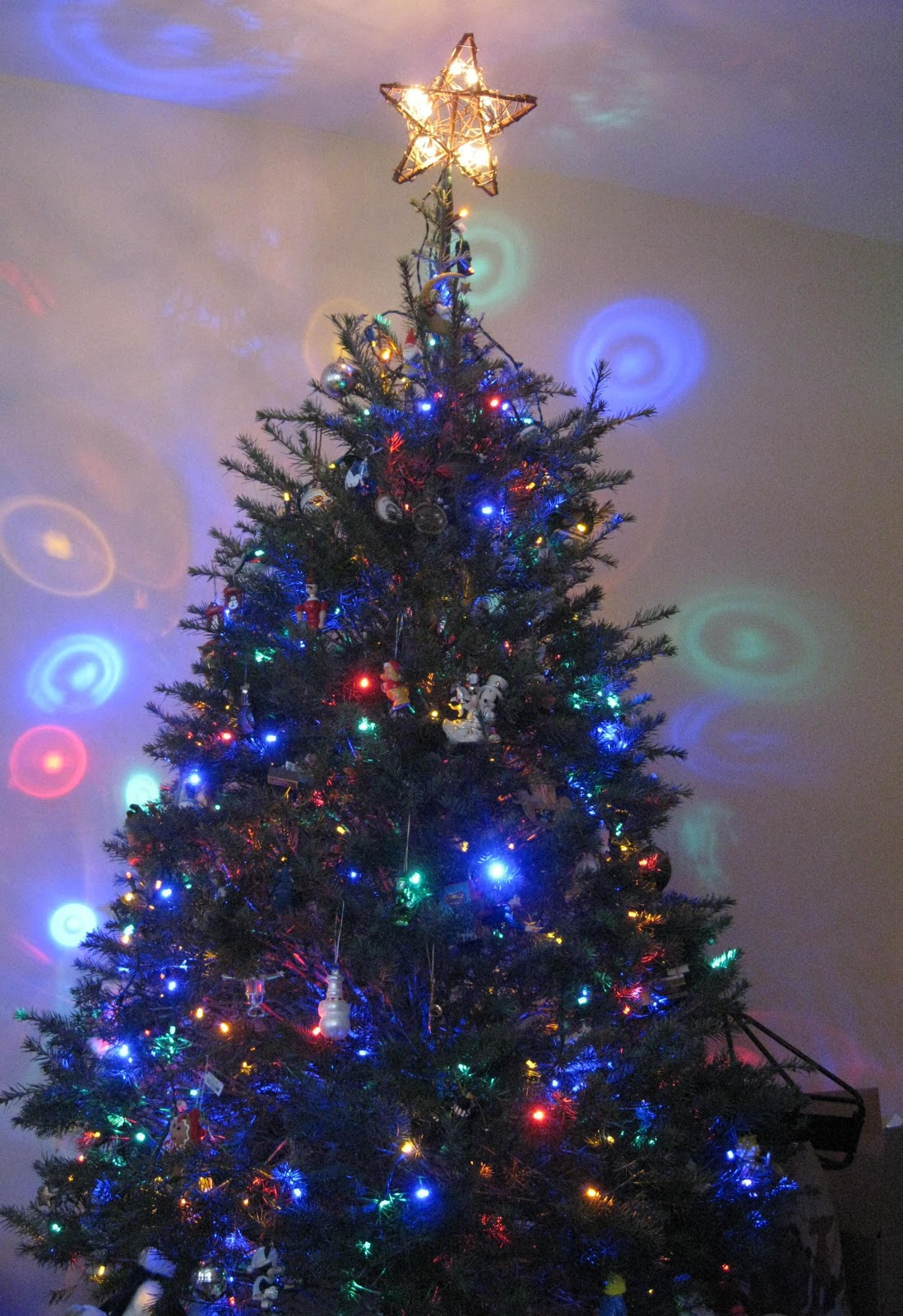 LoveTheSeventies: Christmas Tree Disco Ball Light