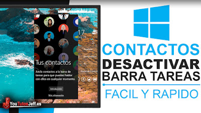 como desactivar contactos windows 10
