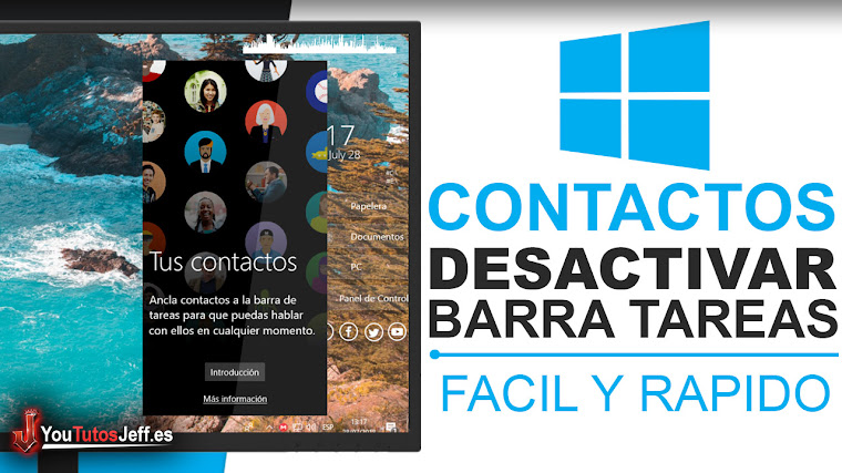 Como Desactivar Contactos en la Barra de Tareas Windows 10 Fall Creators - Trucos Windows 10