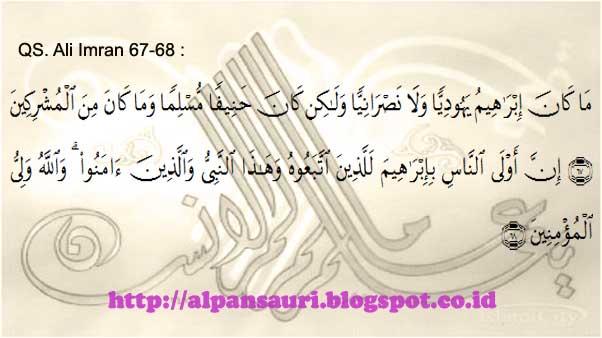 Perbedaan Kisah Nabi Ibrahim Menurut Alquran dan Perjanjian Lama