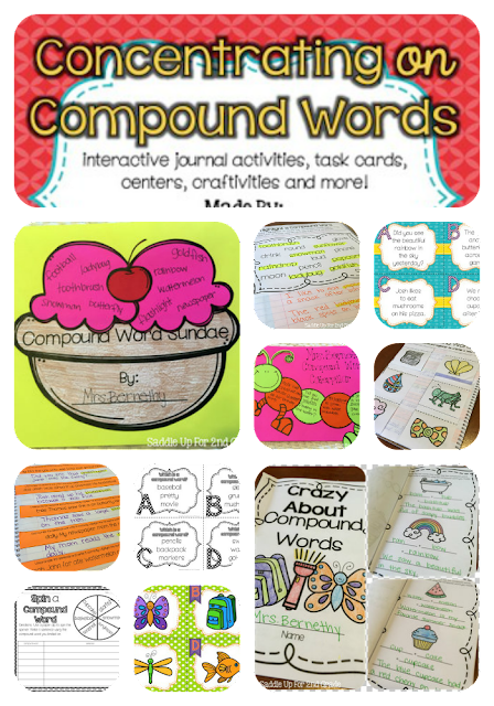 Concentrating on Compound Words by Saddle Up For 2nd Grade