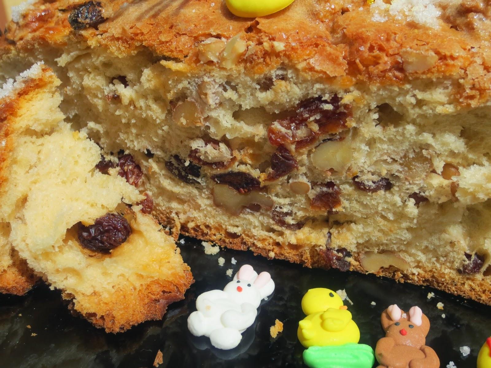 Pan dulce de Pascua Thermomix