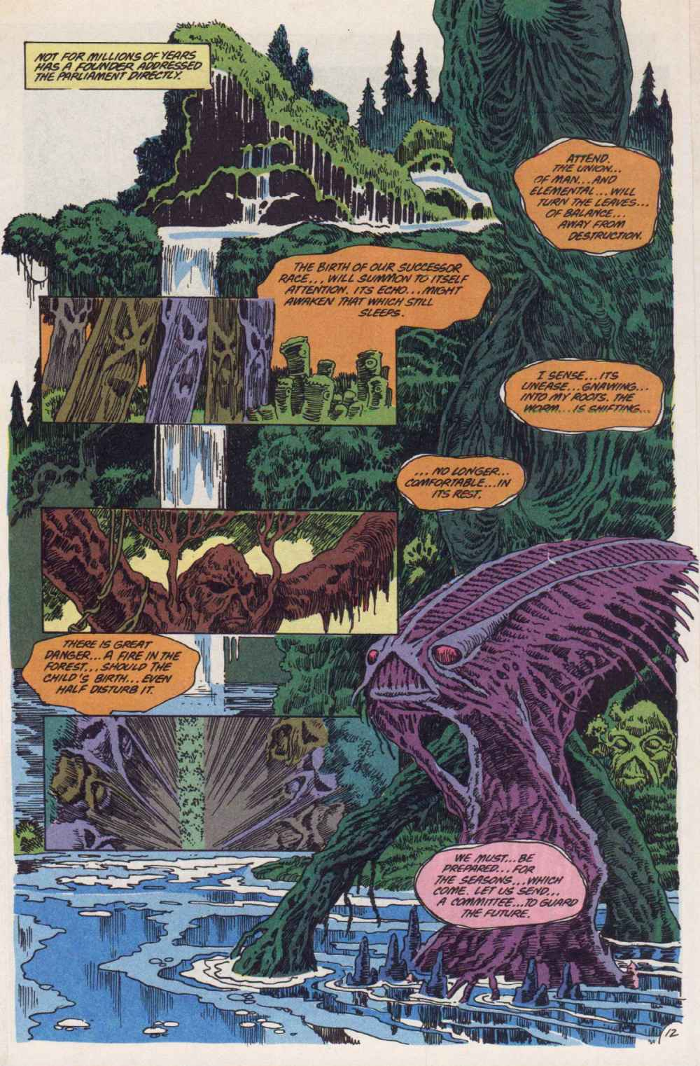 Swamp Thing (1982) Issue #90 #98 - English 13