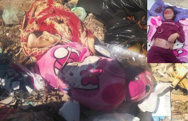 Ditemukan Mayat Wanita Hamil Di Tempat Pembuangan Sampah.