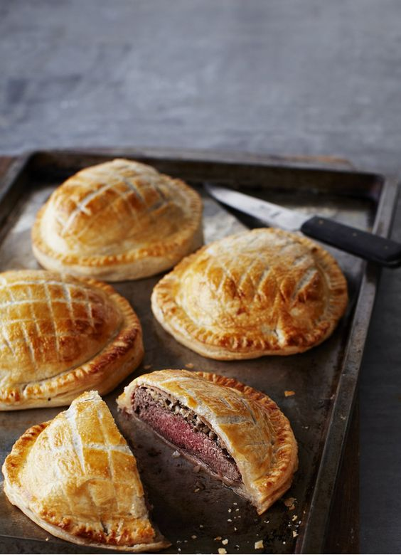 Perfectly cooked beef, mushrooms and flaky pastry make the best beef wellington. Make these individual versions for a special occasion or just for special family and friends