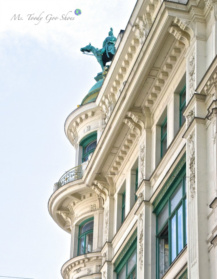 Vienna's old town intoxicates visitors with its grandiose architecture! | Ms. Toody Goo Shoes #vienna #austria #danuberivercruise