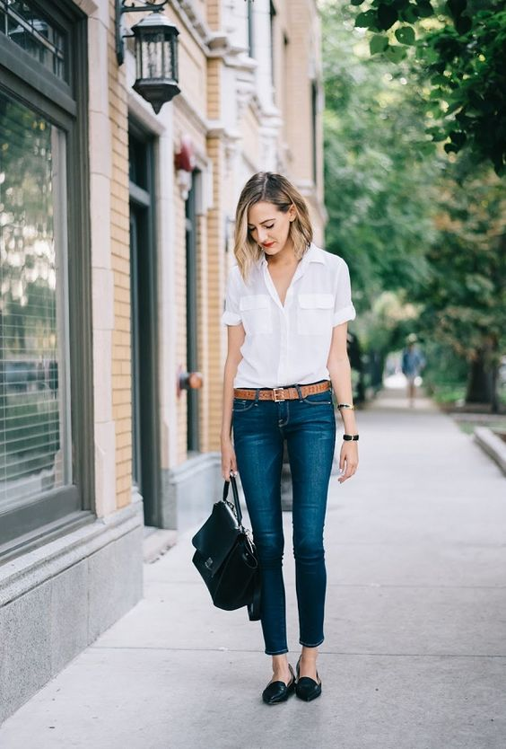 4 Ways to Wear Your Classic White Shirt This Summer! | ALIXROSE