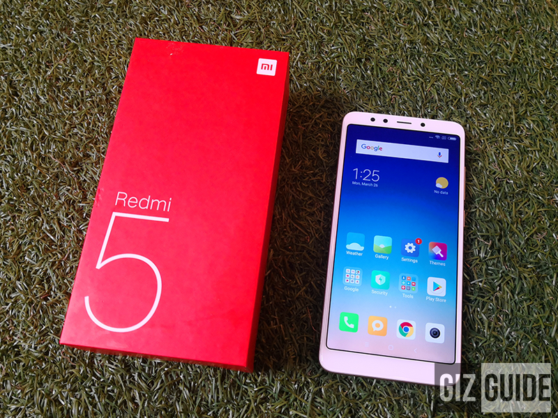 Xiaomi Redmi 5 with 3GB RAM will be available at Lazada starting April 4!