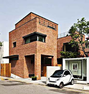 Desain rumah minimalis style Korea