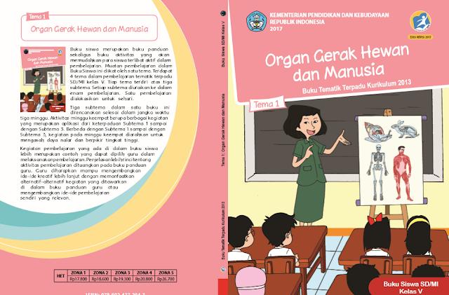 Buku K13 SD Kelas 5 Revisi 2017 Semester I (Tanpa Watermark)