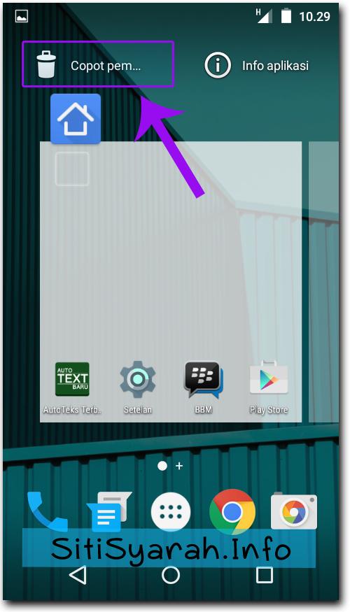 Cara cepat hapus aplikasi android lollipop