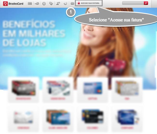 ce6587ed03 Atualmente a BradesCard emite cartões de crédito para diversos  estabelecimentos, entre elas grandes lojas, tais como: C&A, Casas Bahia,  Lojas Colombo, ...