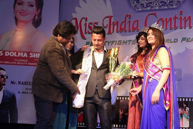 Naseeb Tamang bags Mr. India Continent 2016